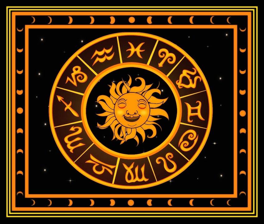 horoszkópos arany medál