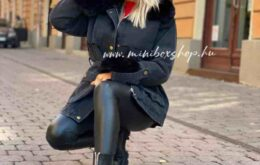 fekete bakancs